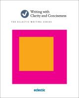 Writing with Clarity and Conciseness Book Cover