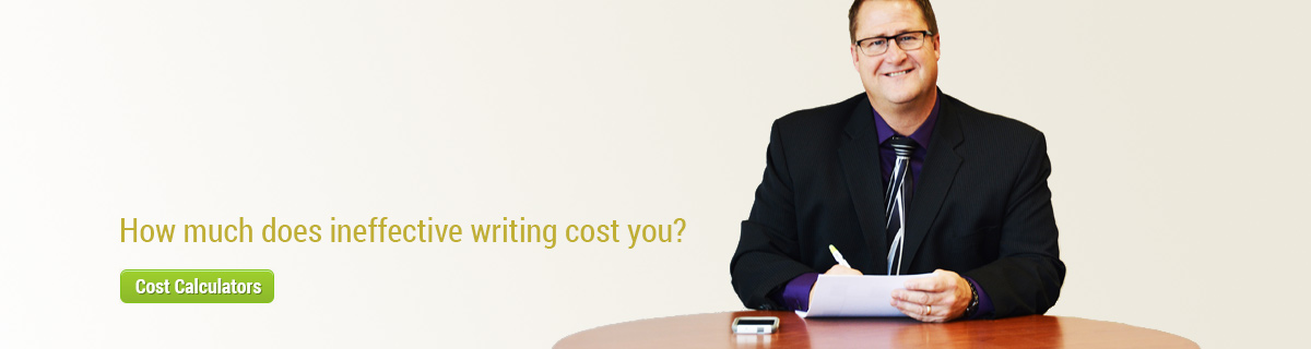 Eclectic Communications cost calculators - How much does ineffective writing cost you?